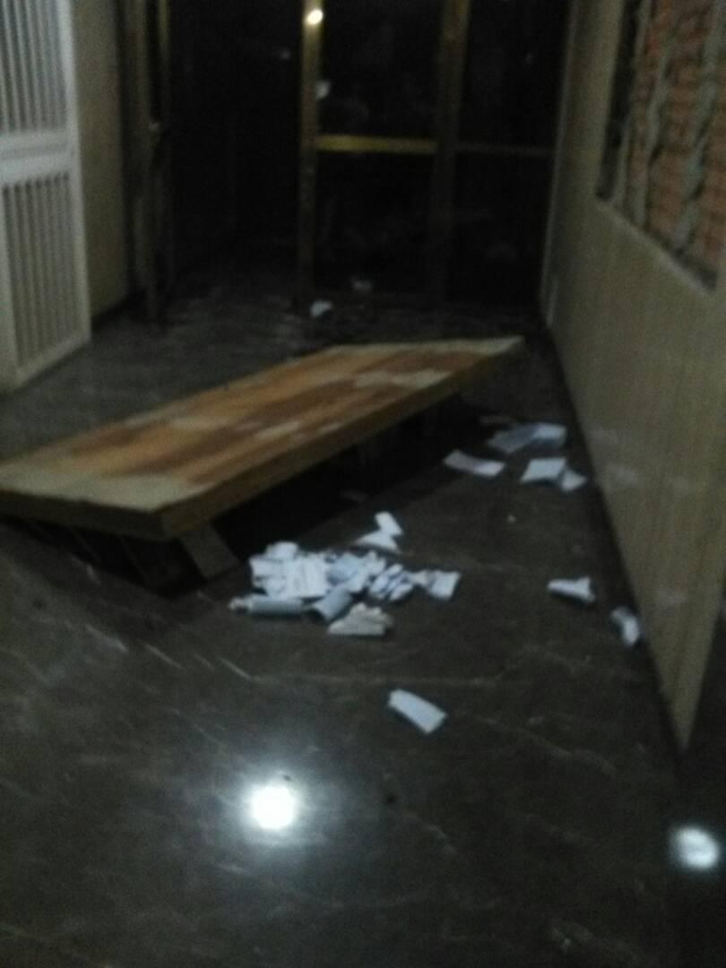 Residencias Loreto de El Paraiso, luego de la visita de paramilitares armados