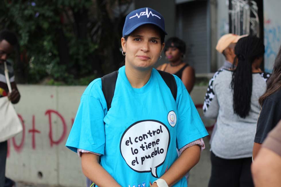 Un gentío fue a respaldar a RCTV en la plaza Alfredo Sadel a diez años del cierre. Foto: Régulo Gómez / LaPatilla.com