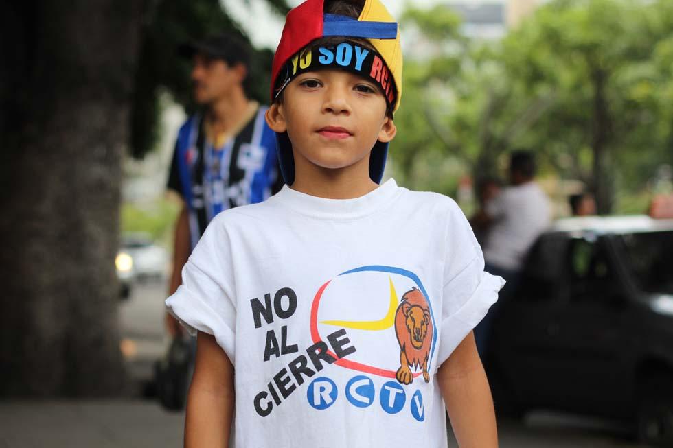 Venezolanos respaldaron a RCTV a diez años de su cierre. Foto: Régulo Gómez / LaPatilla.com