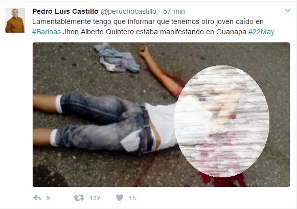 Reportan un nuevo asesinato en el estado Barinas este lunes.