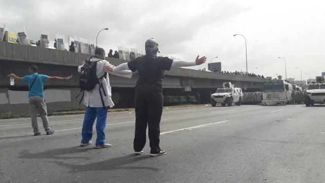 Fátima Pereira / Represión en la Fajardo