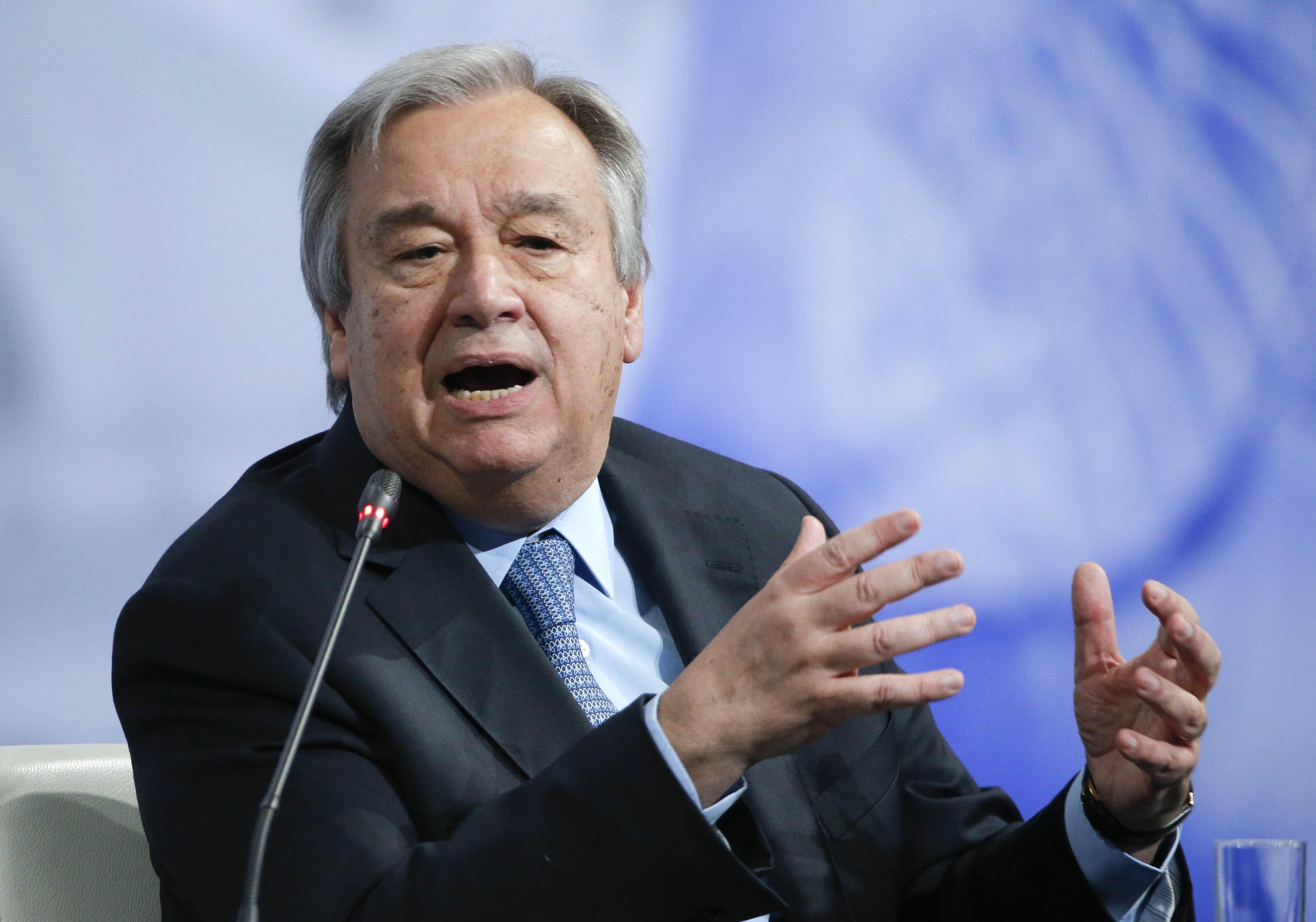 El secretario general de la ONU, Antonio Guterres (Foto: Reuters)