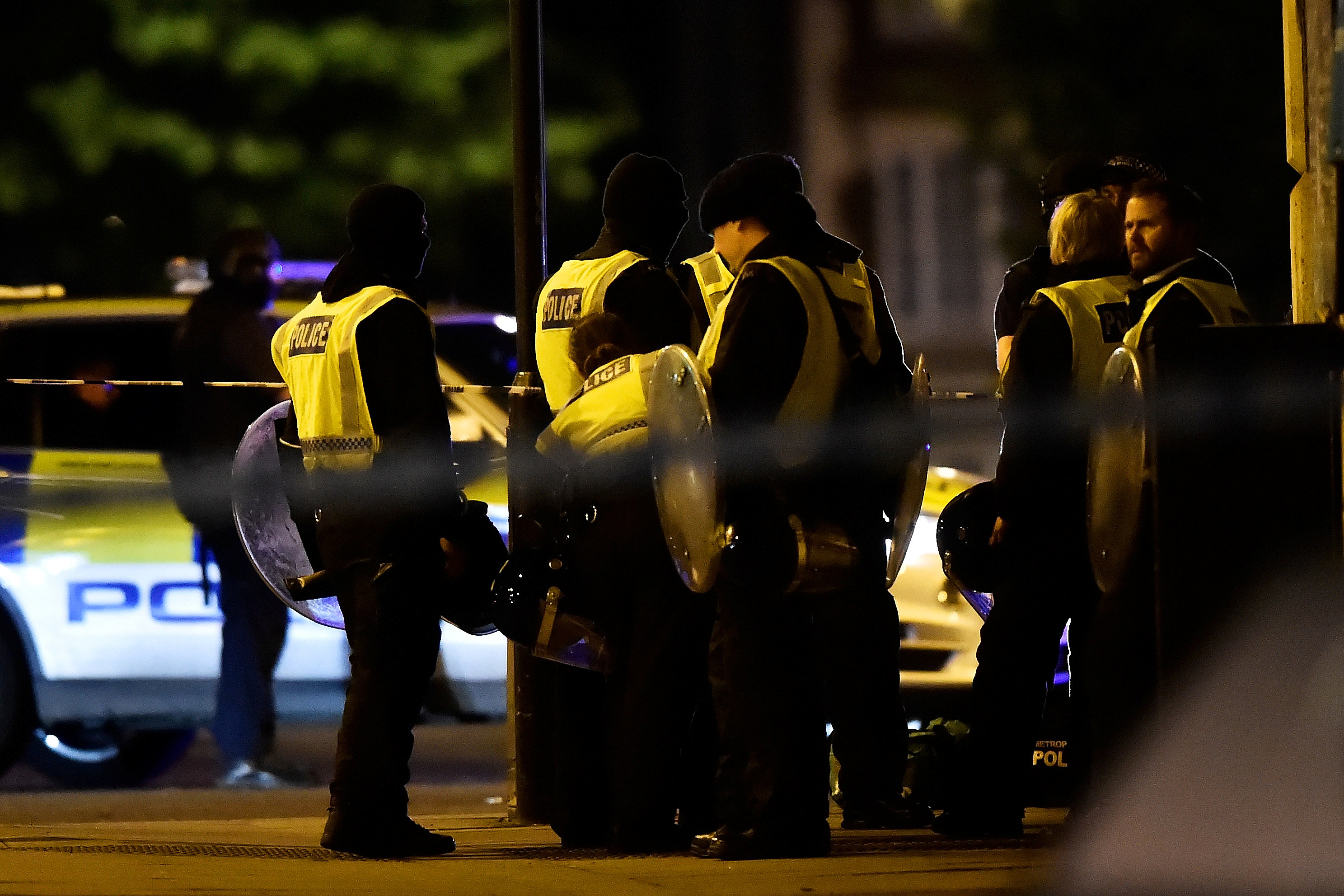 Police attend to an incident near London Bridge in London, Britain, June 3, 2017. REUTERS/Hannah McKay