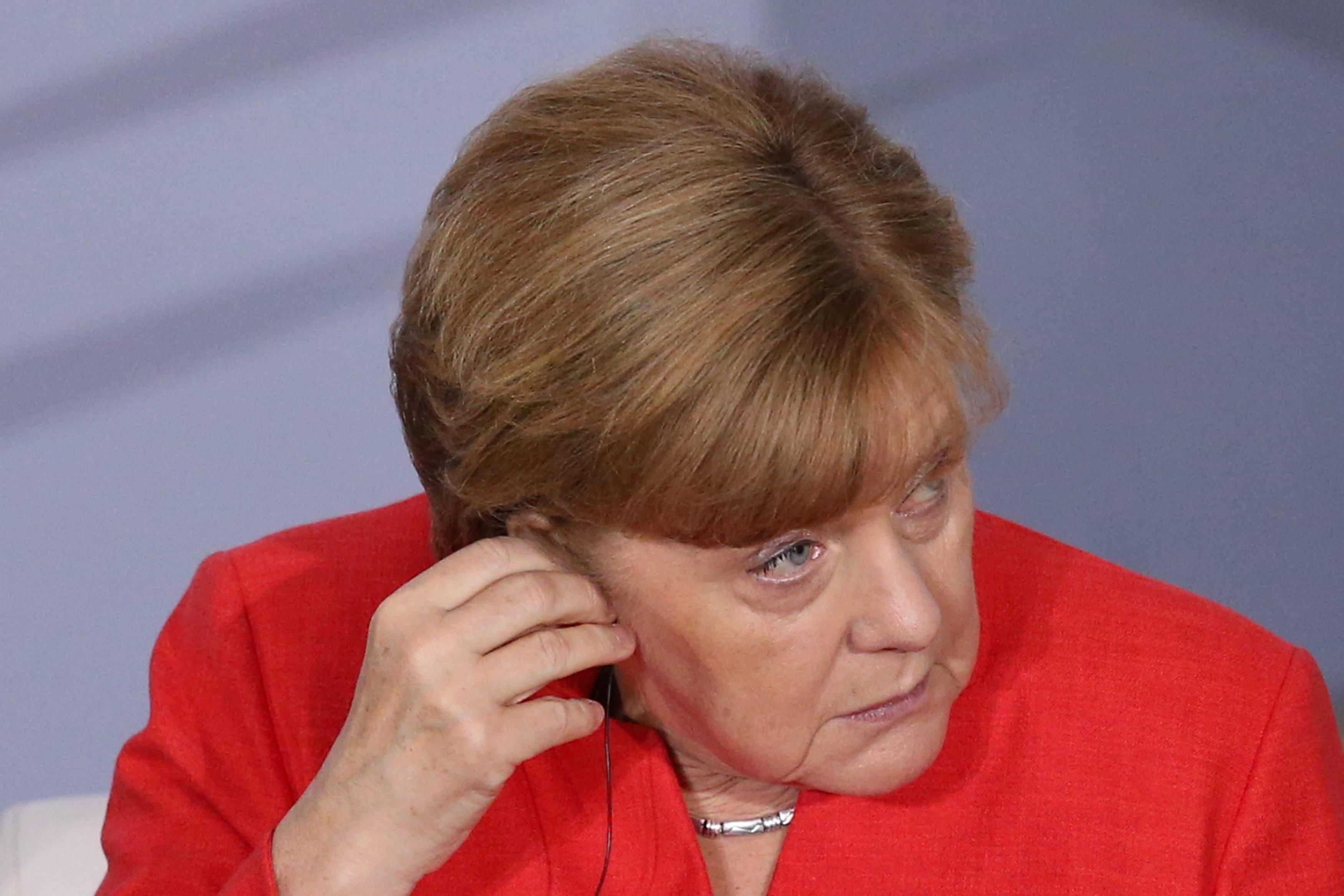 """Angela Merkel se muestra """"preocupada"""" por situación de Venezuela REUTERS/Edgard Garrido"""