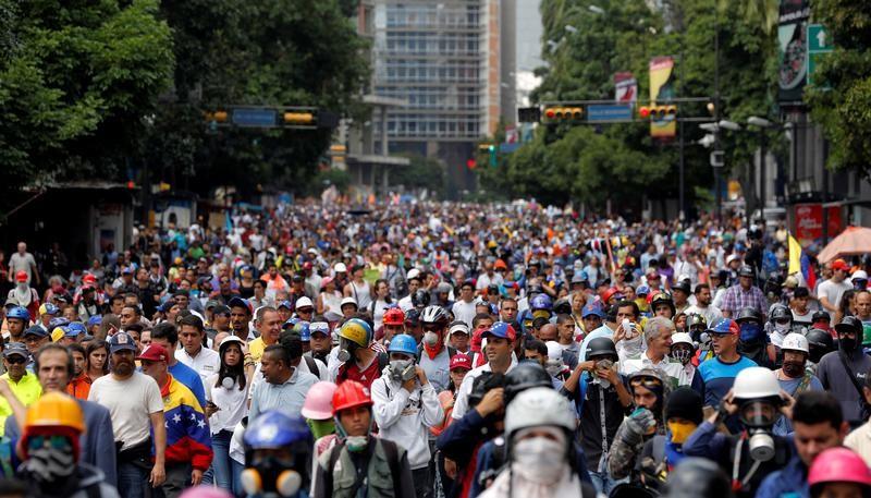 La manifestación saldrá desde ocho puntos de encuentro (Foto: Reuters)