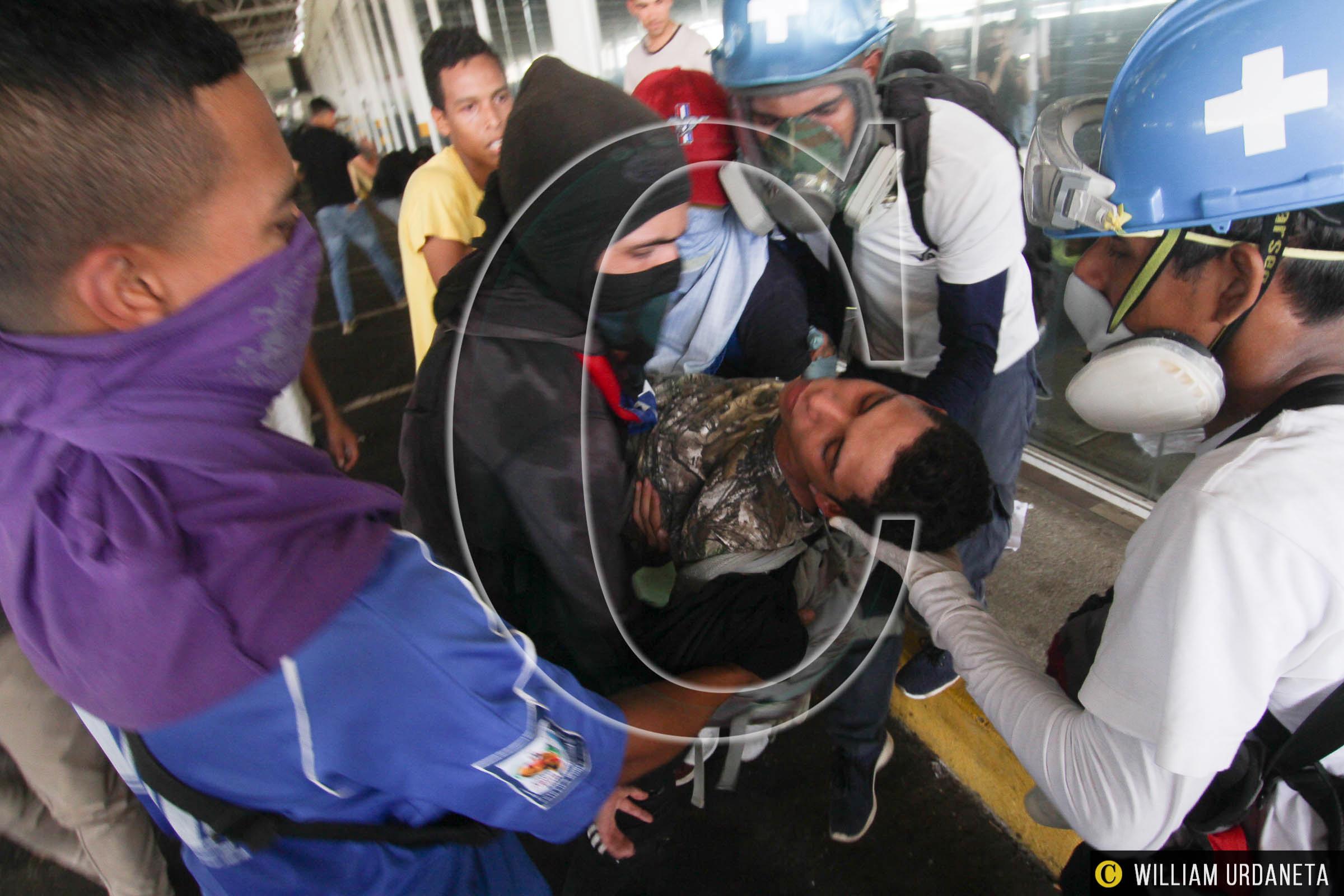 Protestas y Represión en Guayana 15 Junio