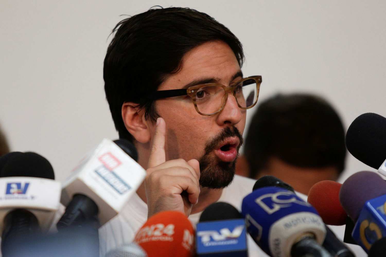 El diputado a la AN, Freddy Guevara