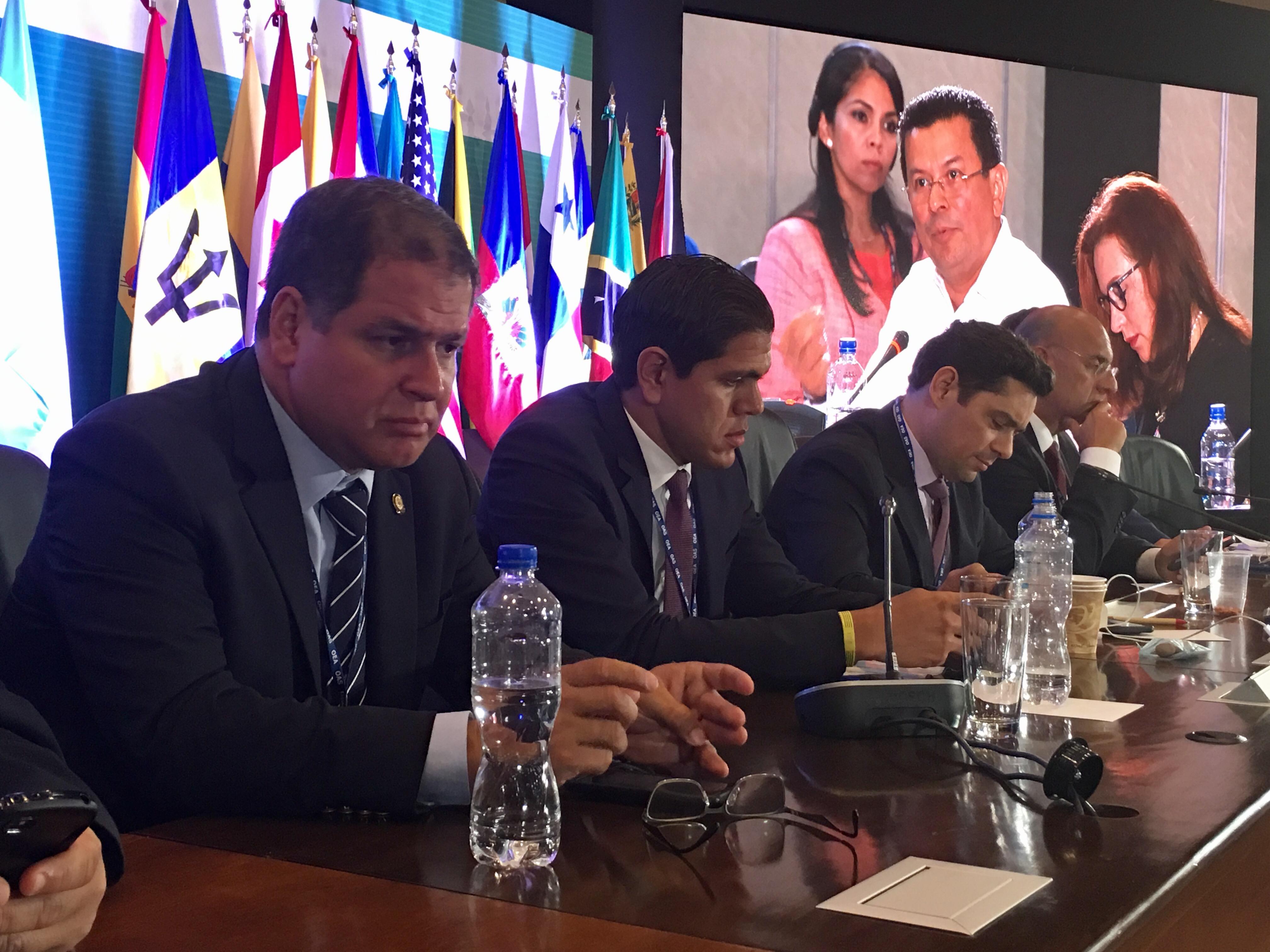 El presidente de la Comisión de Política Exterior, Luis Florido