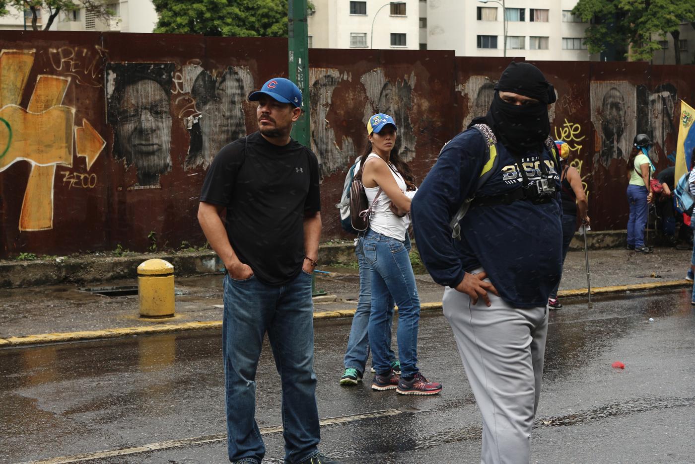 Manifestantes en las calles este #19Jun / Foto: Wil Jiménez