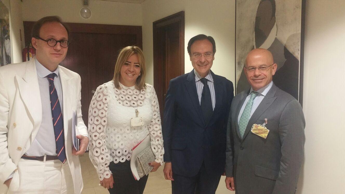 Isabel Cristina Alvarez (Foro Penal Europa), Bernardo del Sicart  y Alonso Medina Roa