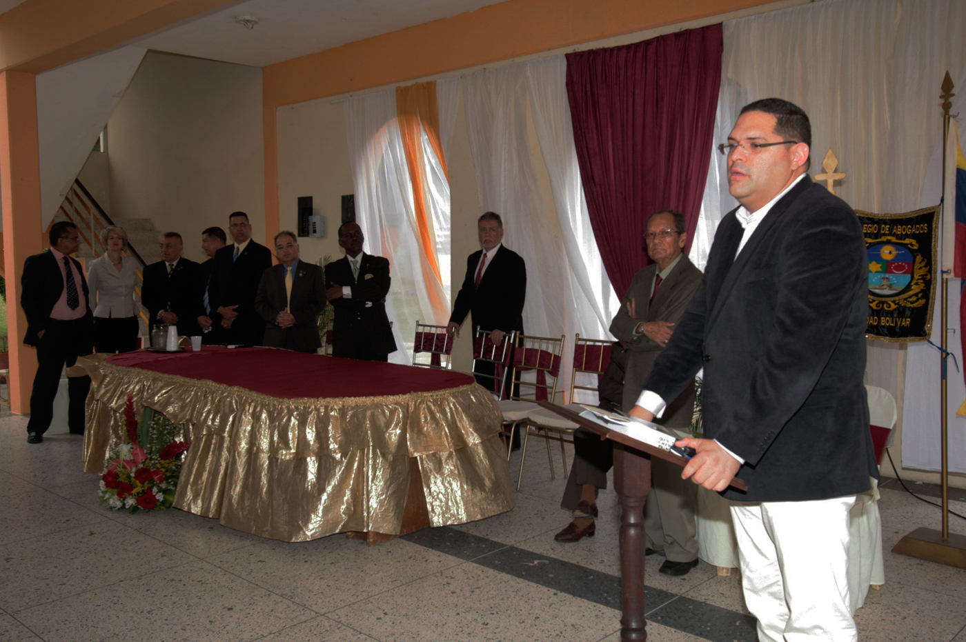 El Fiscal Superior, Israel Pérez. Foto: Nota de prensa