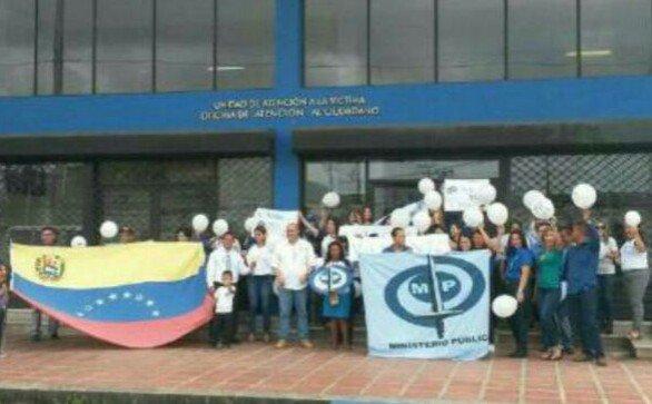 Foto: Fiscalía en Delta Amacuro también apoya a Luisa Ortega Díaz / José Antonio España