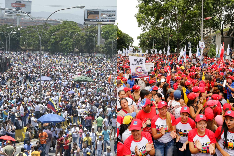 Marcha Oposición Chavismo