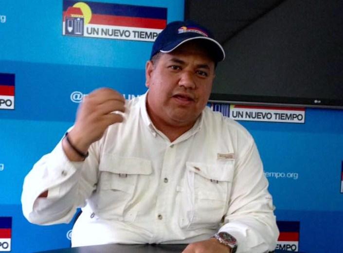 Orangel Palma,dirigente sindical por UNT en Orinoco Iron