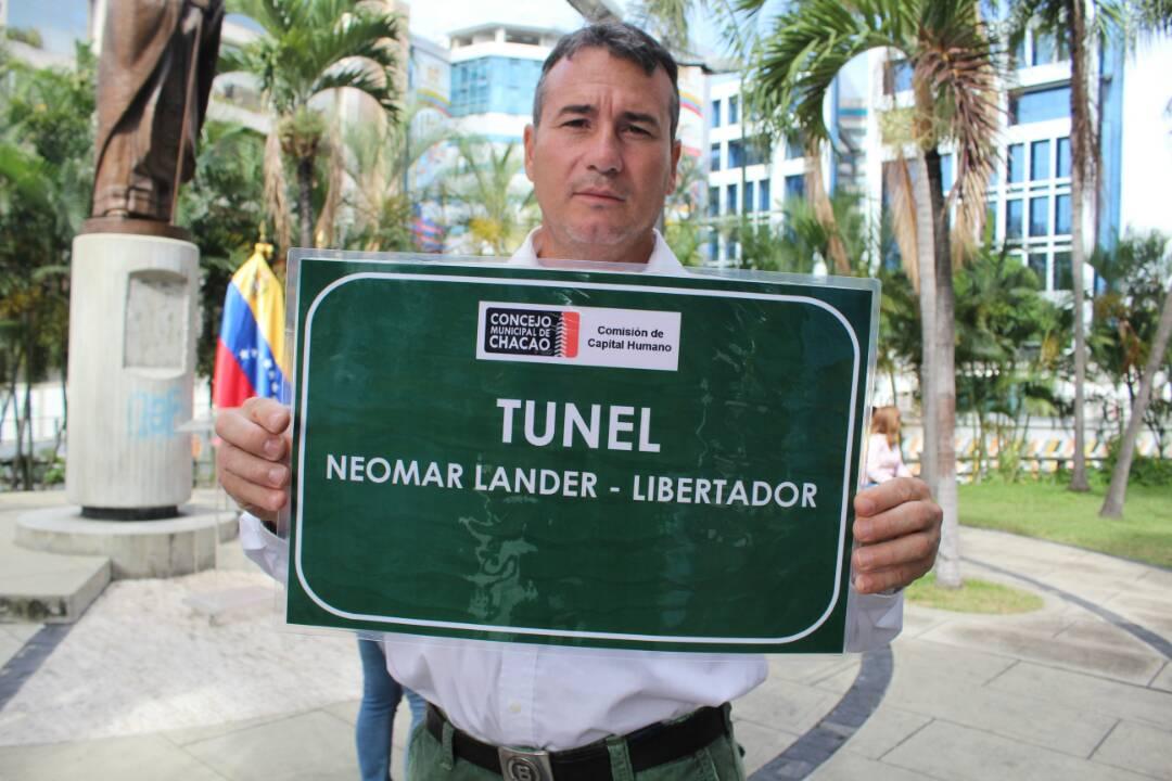 Concejales de Chacao rinden homenaje a Neomar Lander / Fotos: Régulo Gómez La Patilla