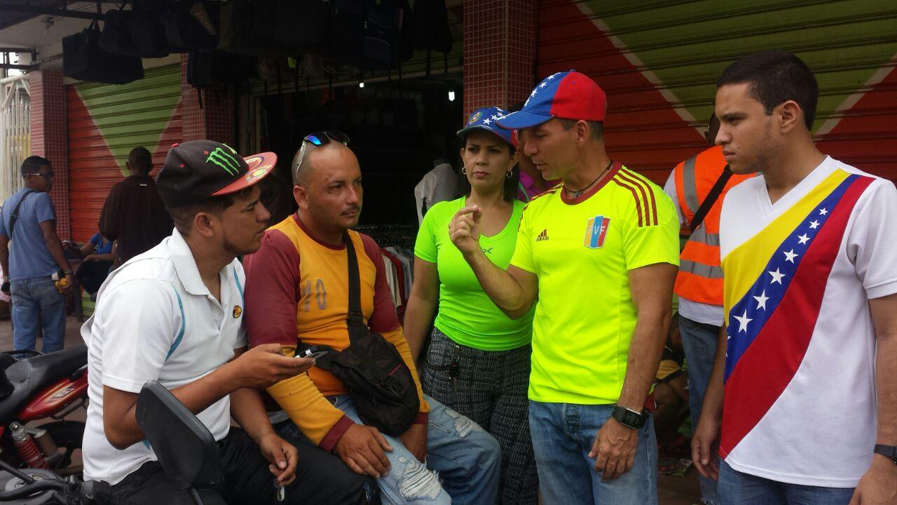 El coordinador del movimiento Gente de Guayana, Wilson Castro