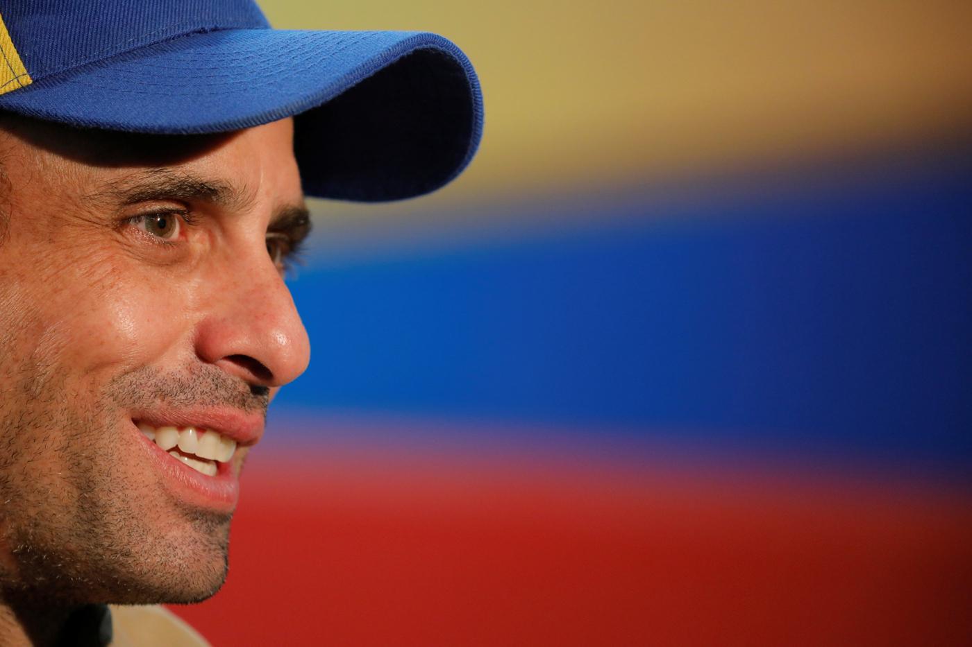 Gorra del gobernador Henrique Capriles / Foto @hcapriles