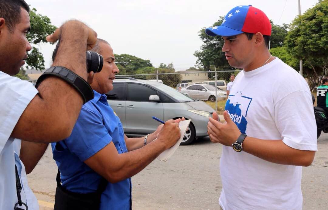 El dirigente opositor, Morel David Rodríguez Salcedo