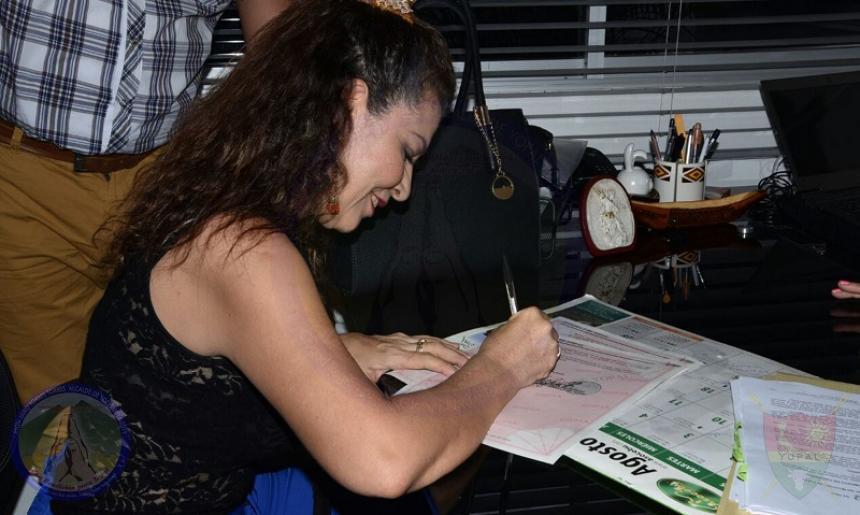 Luz Marina Cardozo Solano, alcaldesa de Yopal, Colombia.Foto: Alcaldía de Yopal, toma de El Heraldo de Colombia