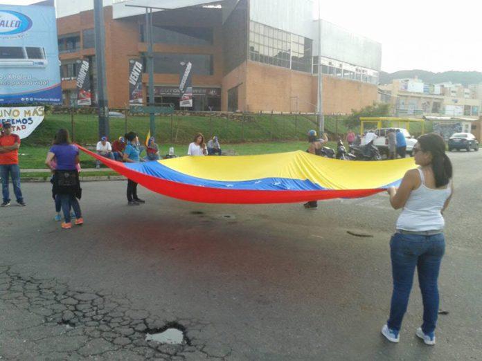 plantón Carabobo