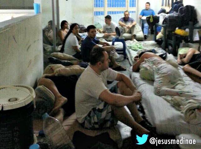 Foto: Foto:  Protesta de PoliChacao en el Sebin / Jesus Medina Ezaine