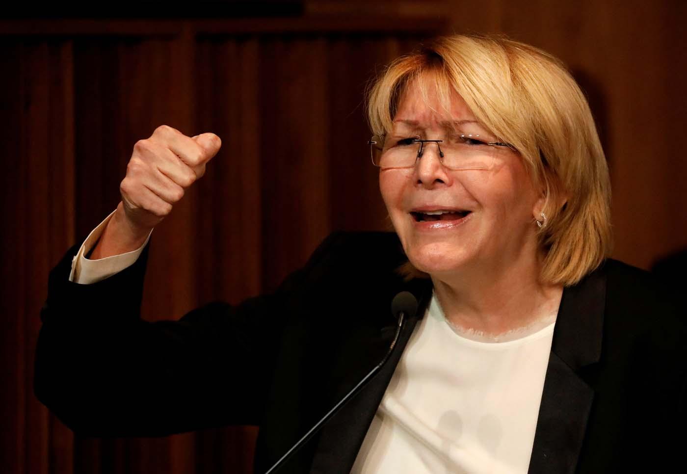 La Fiscal General de Venezuela, Luisa Ortega Díaz REUTERS/Carlos Garcia Rawlins