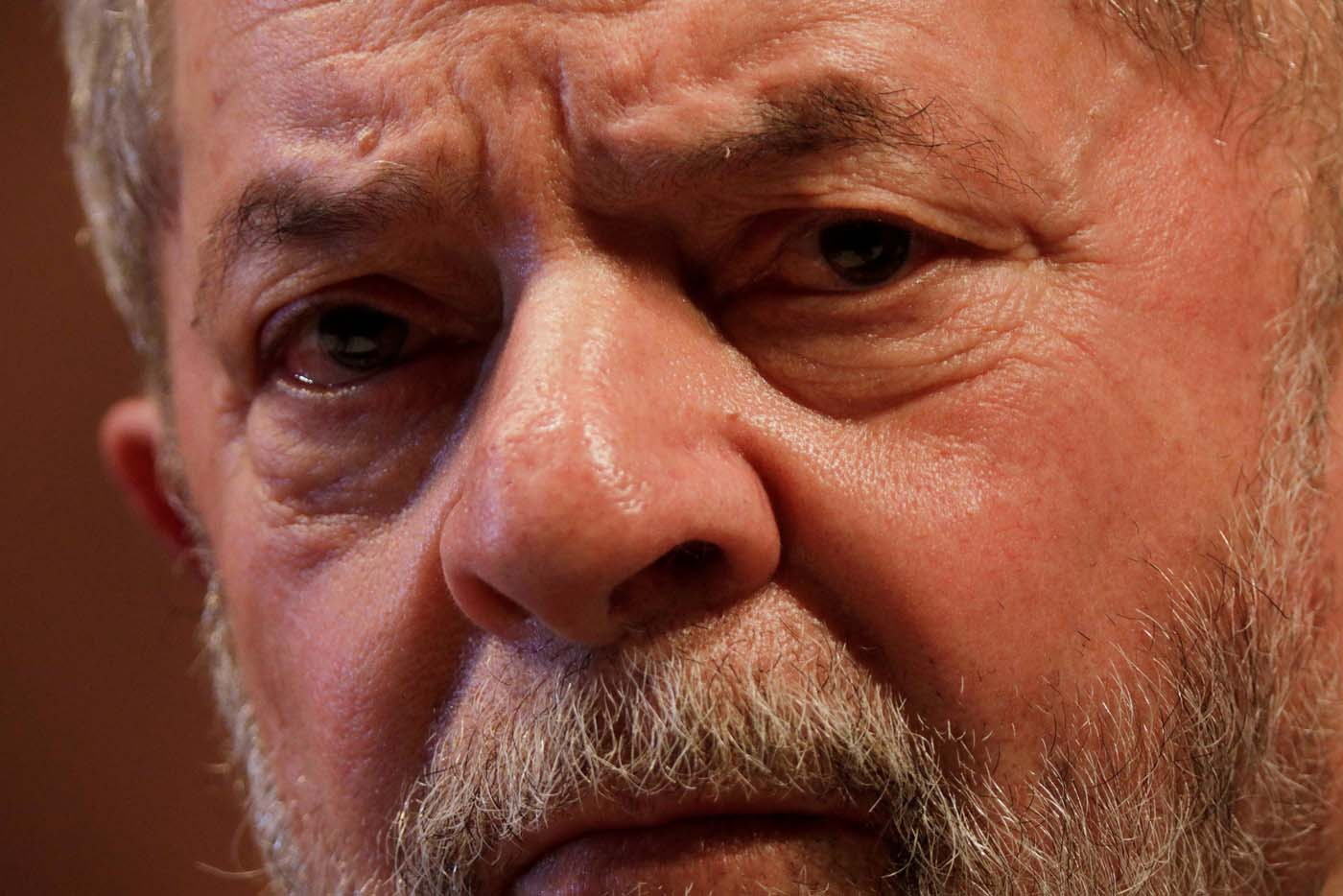 Former Brazilian President Luiz Inacio Lula da Silva looks on during the inauguration of the new National Directory of the Workers' Party, in Brasilia, Brazil July 5, 2017. REUTERS/Ueslei Marcelino