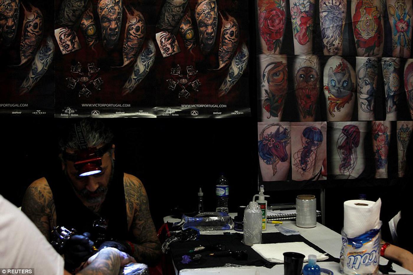 Tatto en Colombia / Foto: Agencias