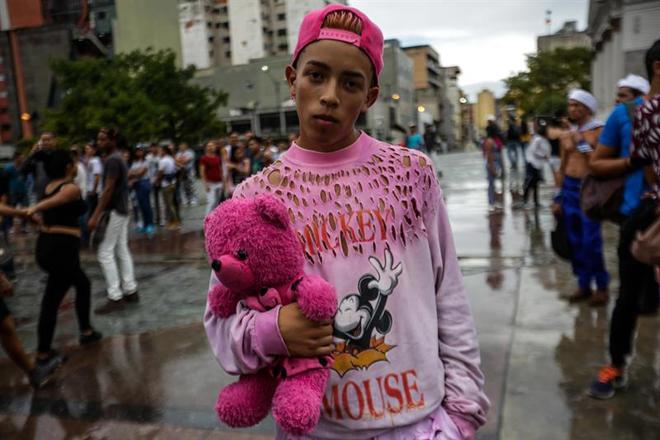 Marcha del Orgullo Gay en Caracas / Foto: EFE