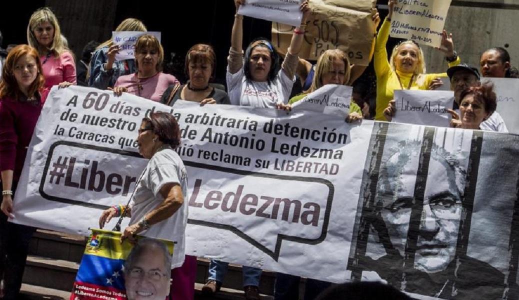 Antonio Ledezma fue alcalde de Caracas hasta febrero de 2015, cuando fue detenido y acusado de participar en la Operación Jericó. Foto: Miguel Gutiérrez / EFE