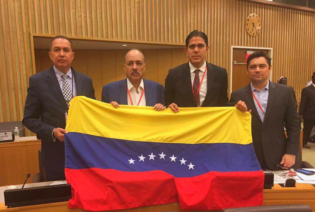 Carlos Vecchio, Lester Toledo y Richard Blanco