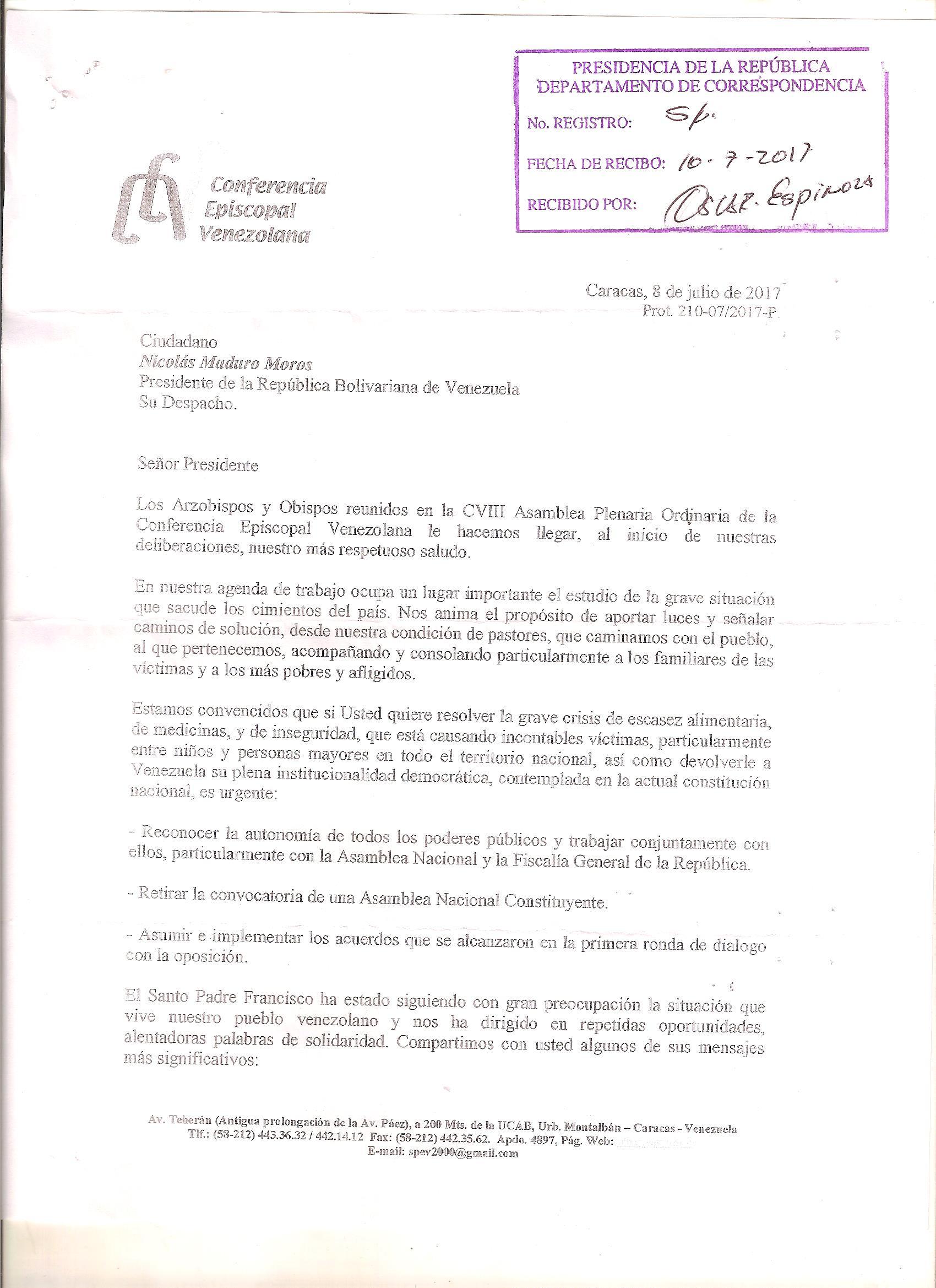 Carta_de_la_CEV_a_Maduro