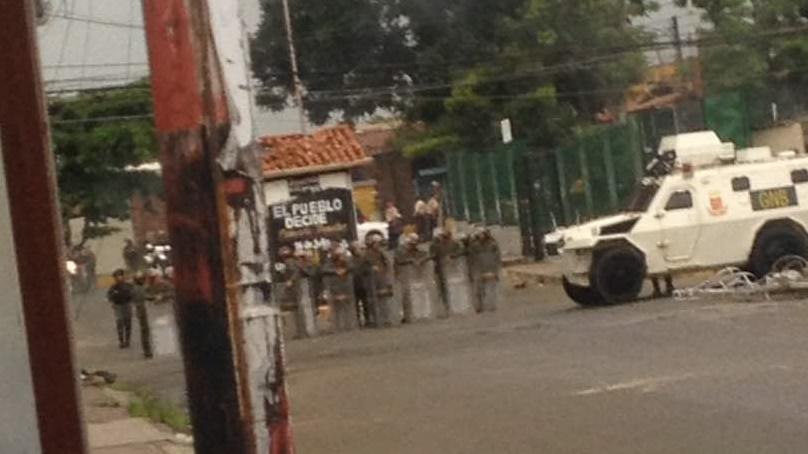 Represión Barinas 17 de julio
