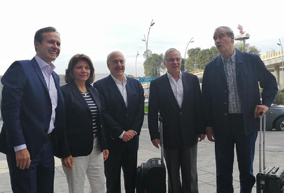 Expresidentes publicaron la fotografía antes de salir a Caracas / Foto: Tuto Quiroga