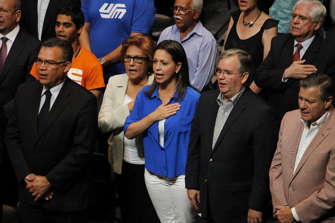 La Coordinadora nacional de Vente Venezuela, María Corina Machado