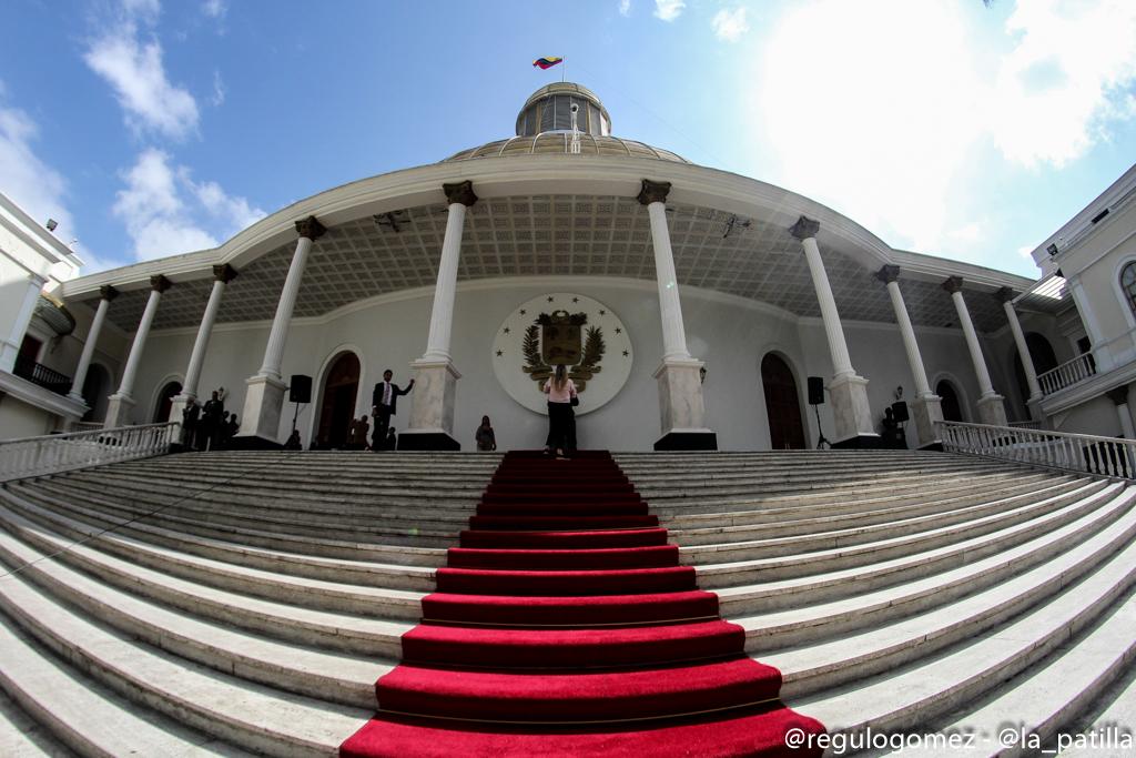 Sede del Palacio Legislativo en Caracas. Foto: Régulo Gómez / LaPatilla.com