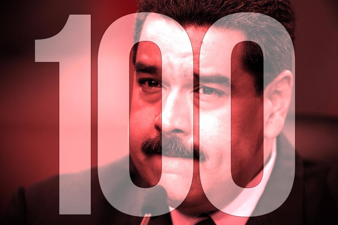 Este domingo se cumplieron 100 días de la crisis social y política en el país. Foto: LaPatilla.com