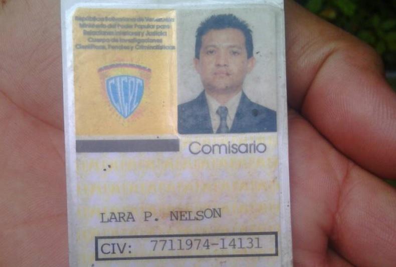 comisario jubilado Nelson Lara