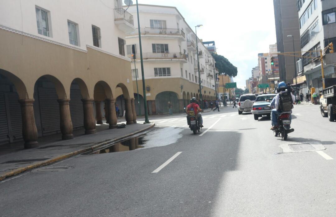 Recorrido por varias zonas de Caracas / Foto: Will Jiménez