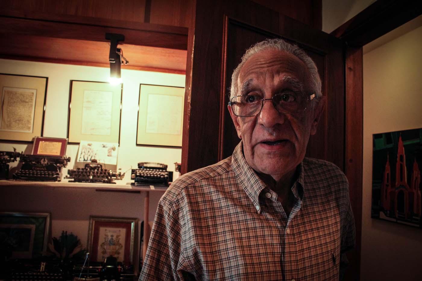 El escritor Jaime Ballestas