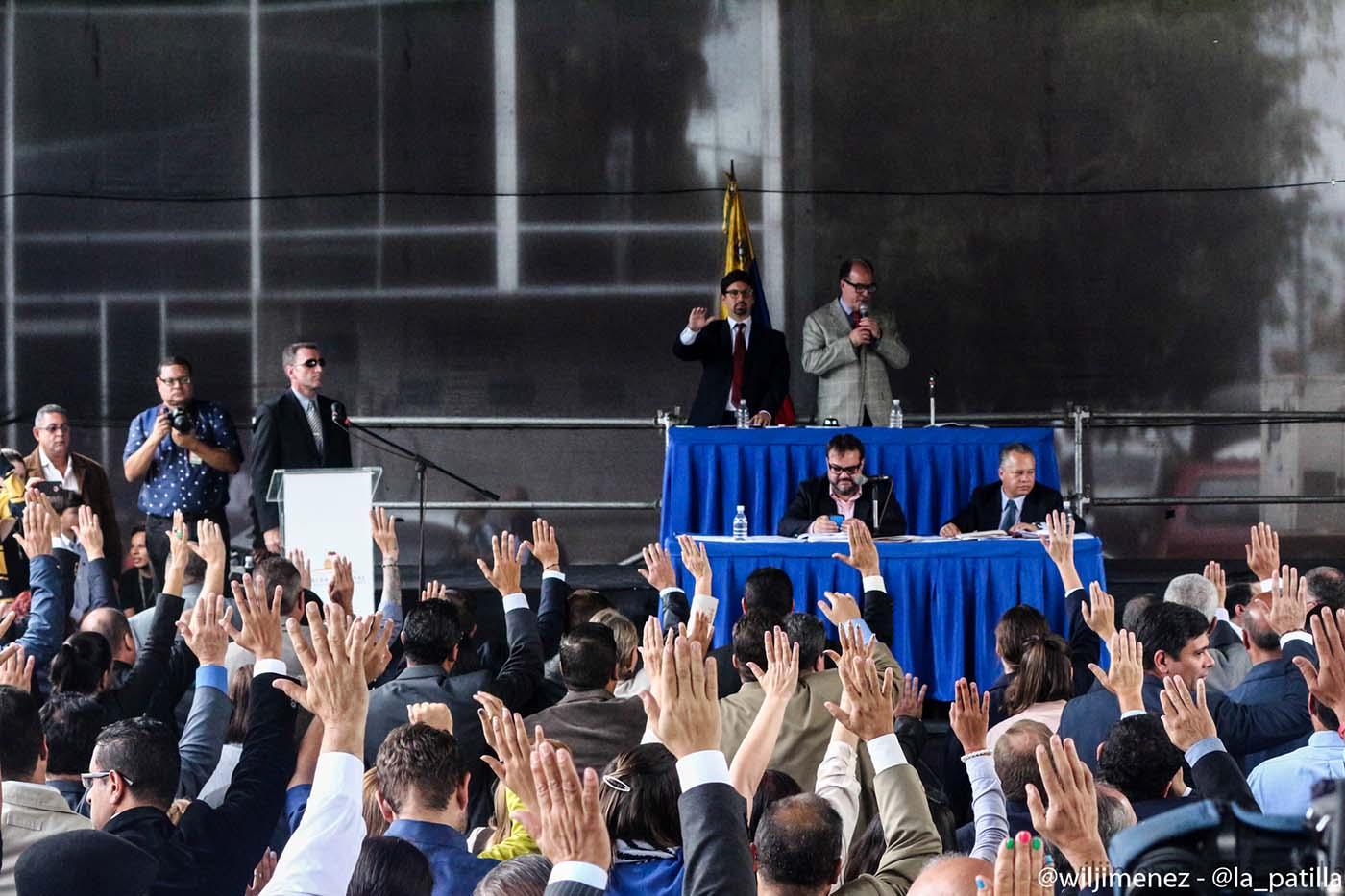 La Asamblea Nacional juramentó a los nuevos magistrados del TSJ (Foto lapatilla)