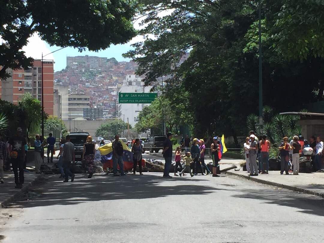 El para so sigue en la calle y manifest durante el for Puente de diciembre 2017