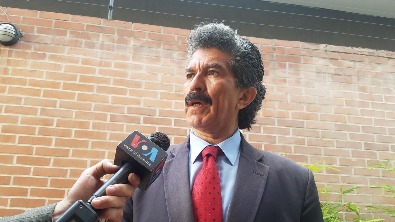 Foto: Rafael Narváez, coordinador de la Asociación civil Defensa por los Derechos Civiles / Prensa