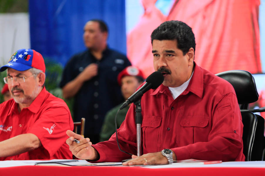 El presidente de la República, Nicolás Maduro. Foto: AVN