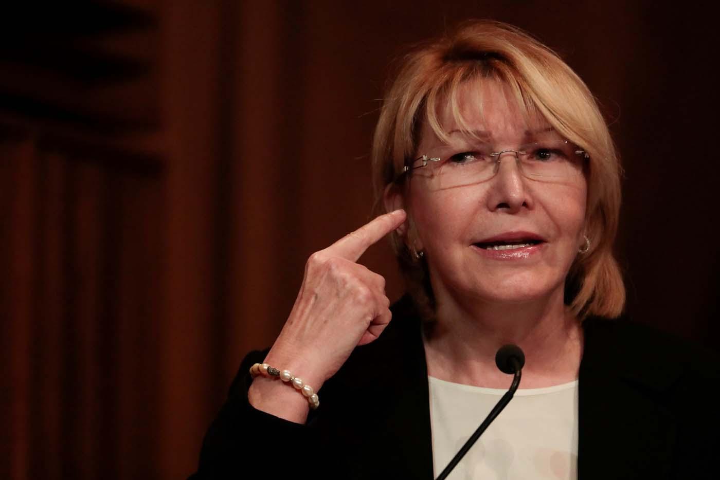 La fiscal general Luisa Ortega Díaz. REUTERS/Marco Bello