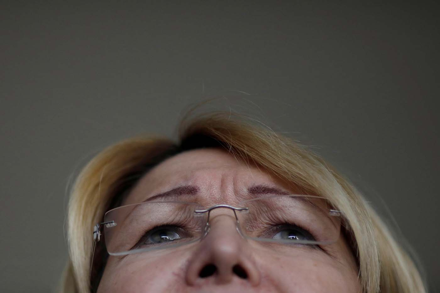 Venezuela's former chief prosecutor Luisa Ortega Diaz speaks during a news conference after a meeting with Brazil's Foreign Minister Aloysio Nunes Ferreira, in Brasilia, Brazil August 23, 2017. REUTERS/Ueslei Marcelino