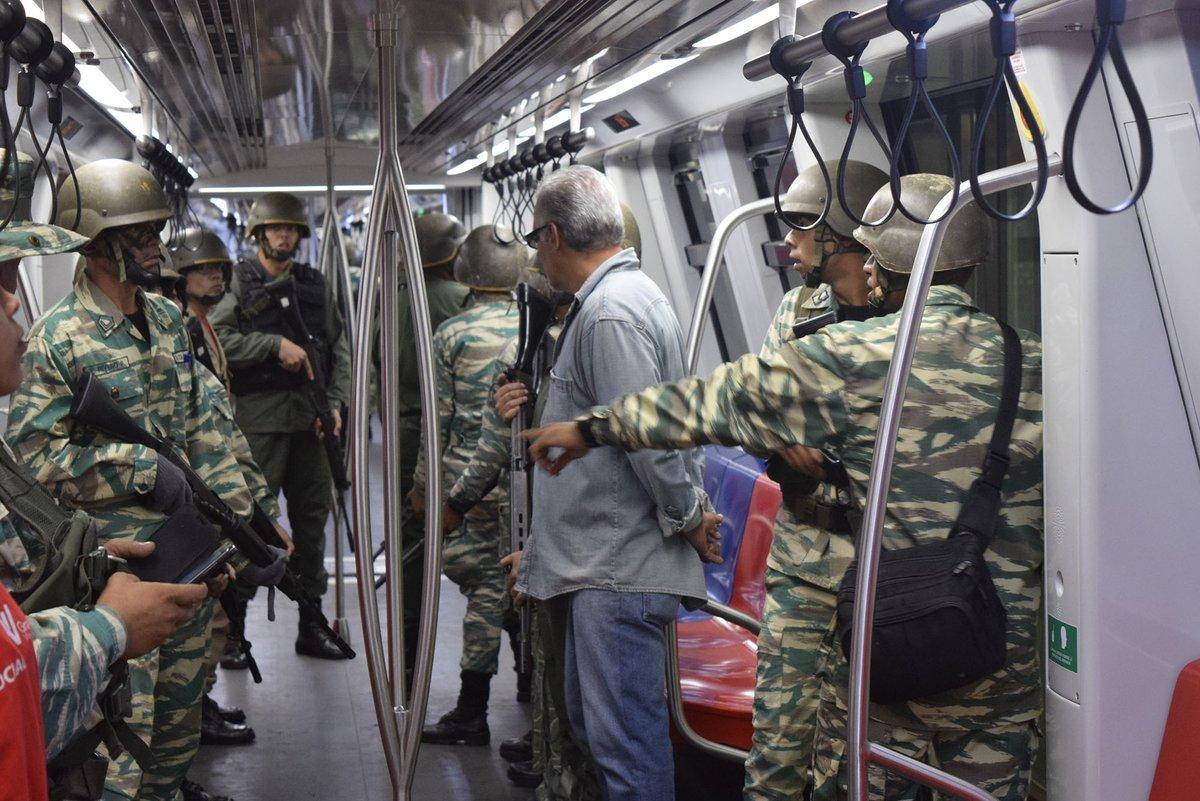 Foto: Ejercicio cívico militar Metro Los Teques / Metro Los Teques