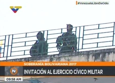 Ejercicio Militar en Maiquetia (2)