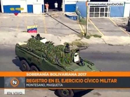 Ejercicio Militar en Maiquetia  (3)