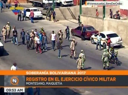 Ejercicio Militar en Maiquetia  (4)